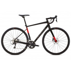 Specialized Diverge E5 Sport 2018 Adventure Road Bike in Black and Red