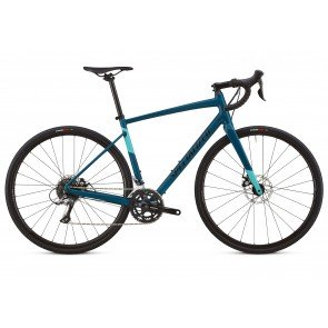 Specialized Diverge E5 2018 Women's Adventure Road Bike in Black and Teal