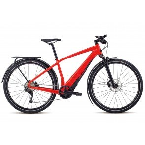 Specialized Turbo Vado 4.0 2018 Electric Bike in Gloss Satin, Nordic Red and Black