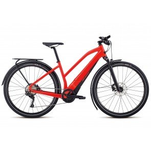 Specialized Turbo Vado 4.0 Women's 2018 Electric Bike in Gloss Satin, Nordic Red and Black