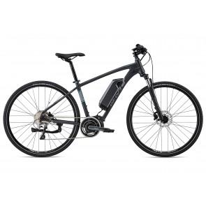 Whyte Coniston 2018 Electric Bike in Matt Granite, Grey, Blue