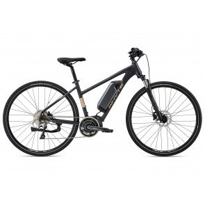 Whyte Coniston Women's 2018 Electric Bike in Matt Granite, Silver and Grey
