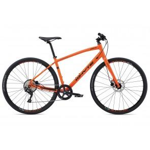Whyte Shoreditch 2018 Hybrid Bike in Orange
