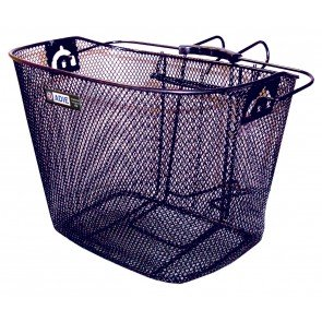 Mesh Basket With Holder