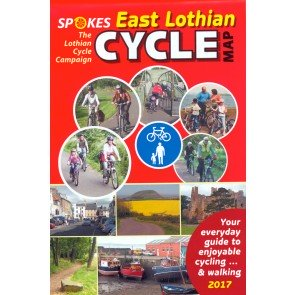 Spokes Cyclists' Map of East Lothian 2017 Edition