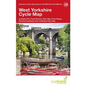 Sustrans Cycle Map 29 West Yorkshire