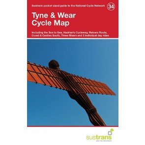 Sustrans Cycle Map 34 Tyne & Wear