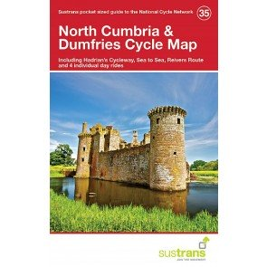 Sustrans Cycle Map 35 North Cumbria & Dumfries