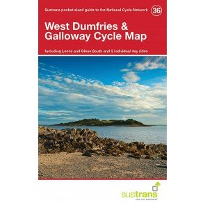 Sustrans Cycle Map 36 West Dumfries & Galloway