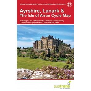 Sustrans Cycle Map 37 Ayrshire, Lanark & the Isle of Arran
