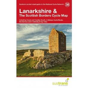 Sustrans Cycle Map 38 Lanarkshire & the Scottish Borders
