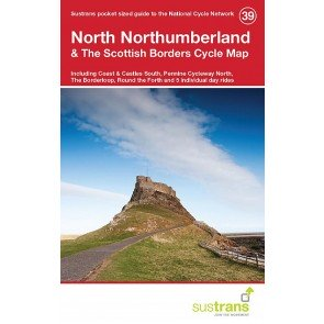 Sustrans Cycle Map 39 North Northumberland & the Scottish Borders