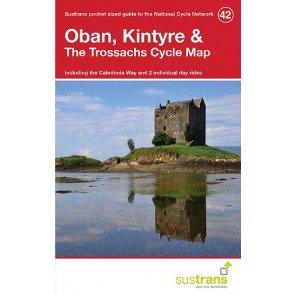 Sustrans Cycle Map 42 Oban, Kintyre & the Trossachs