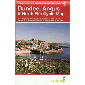 Sustrans Cycle Map 44 Dundee, Angus & North Fife