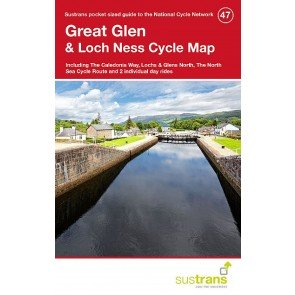 Sustrans Cycle Map 47 Great Glen & Loch Ness