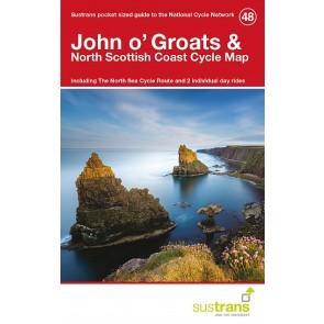 Sustrans Cycle Map 48 John O'groats & the North
