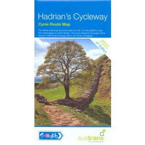 Sustrans Cycle Route Map Hadrians Cycleway NN72