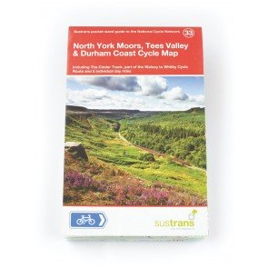 Sustrans Route Guide North York Moors, Tees Valley, Durham Coast MAP33