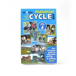Spokes Cyclists' Map of Midlothian 2015 Edition