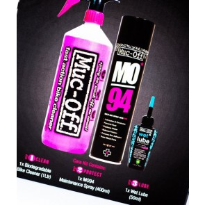 Muc-Off Wash Protect Lube Cleaning Kit