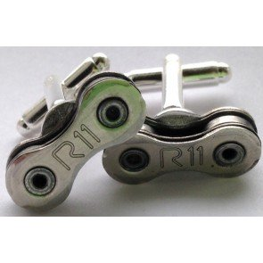 Velo Culture Recycled Chain Cufflinks