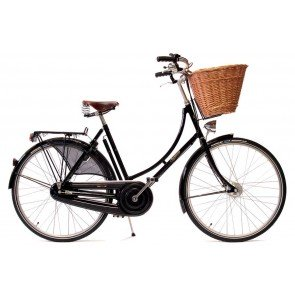 Pashley Princess Sovereign 8 Speed Classic Hybrid Bike in Black