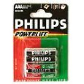 Philips Powerlife Battery LR03 AAA