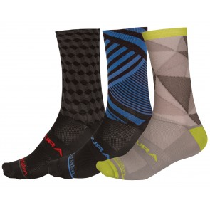 Endura Graphic Socks (2-Pack)