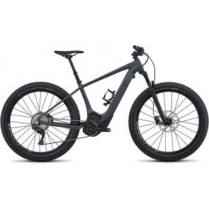 Specialized Turbo Levo HT Comp 2018 Electric Bike in Gloss Carbon, Grey and Black