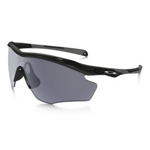 Oakley M2 Frame  XL Sunglasses Polished Black Frame /Grey Lens
