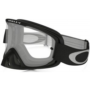 Oakley O2 MX Goggles Matt Black Frame/Clear Lens