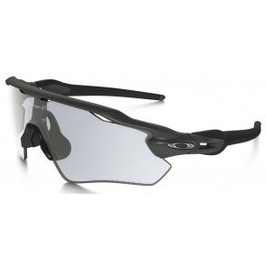 Oakley Radar EV Path Sunglasses Steel Frame/ClearBlack Iridium Photochromic Lens