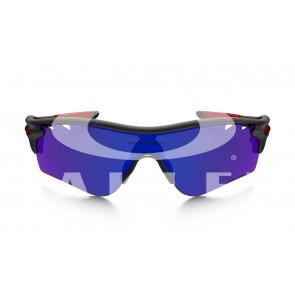 Oakley Radarlock Path Sunglasses Matt Black Ink/OO Red Polar &Black Vented Frame