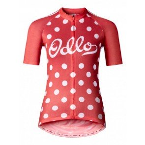 Odlo Women's Ride Short Sleeve Full Zip Jersey