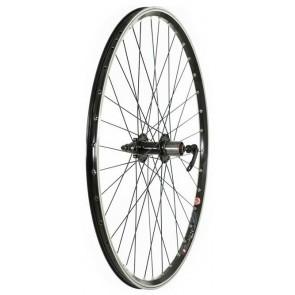 Tru-Build 700C Disc/V-Brake Hybrid Wheel Front