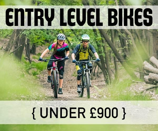 Entry level mountain bikes
