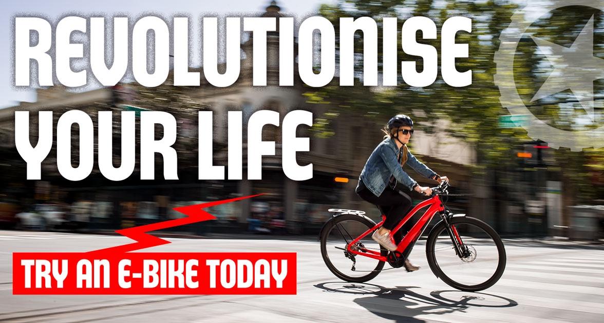 Try an e-bike