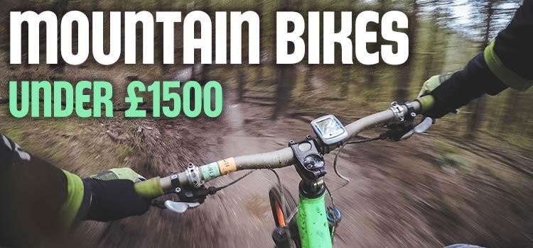 Mountain Bikes Under £1500