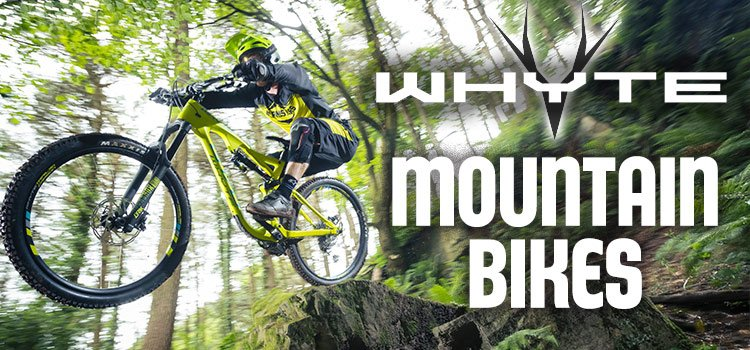 Whyte mountain bikes