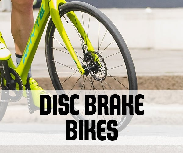 Road Bikes with Disc Brakes