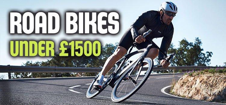 Road bikes under £1500